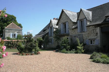 Idyllic French Retreat- B&B1 & pool - Courléon - Bed & Breakfast
