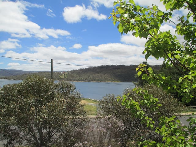 Overlooking Lake Jindabyne