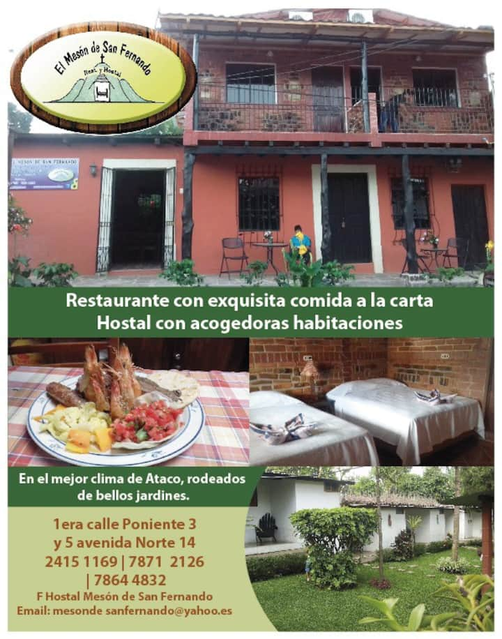 Hostal San Fernando Bed & breakfast