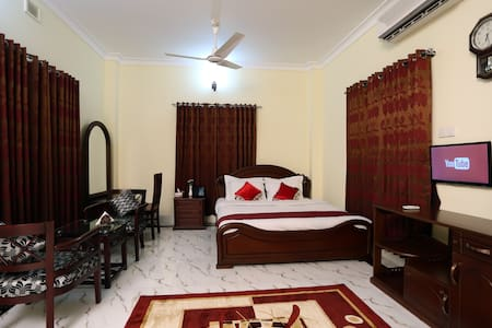 Cozy room for couples or travelers near Sylhet