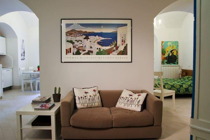 MEDITERRANEAN LOFT WI-FI chiaia  - Naples - Apartmen