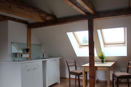 Schlafen unterm Dach - Studio mit Küchenzeile - Κάσελ - Διαμέρισμα