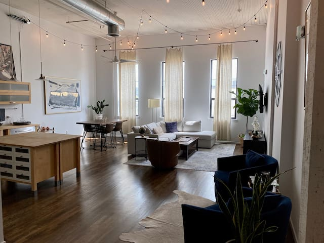 Modern Industrial Downtown Condo