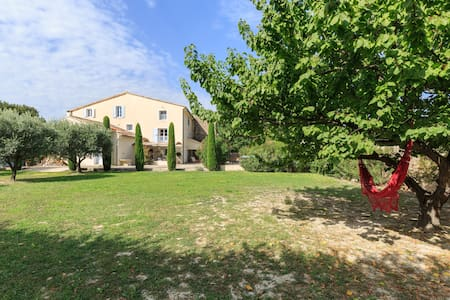 Beautiful and cosy old bastide in Provence