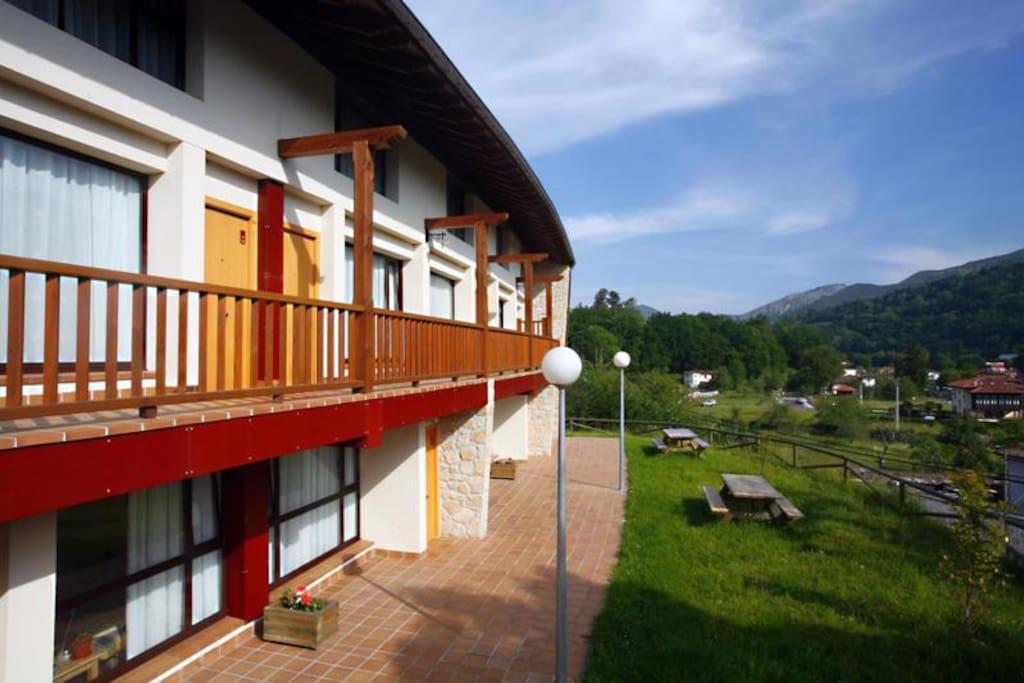 Edificio vista exterior