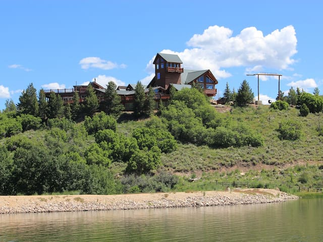 Largest private log cabin in USA - Heber City - Cabaña