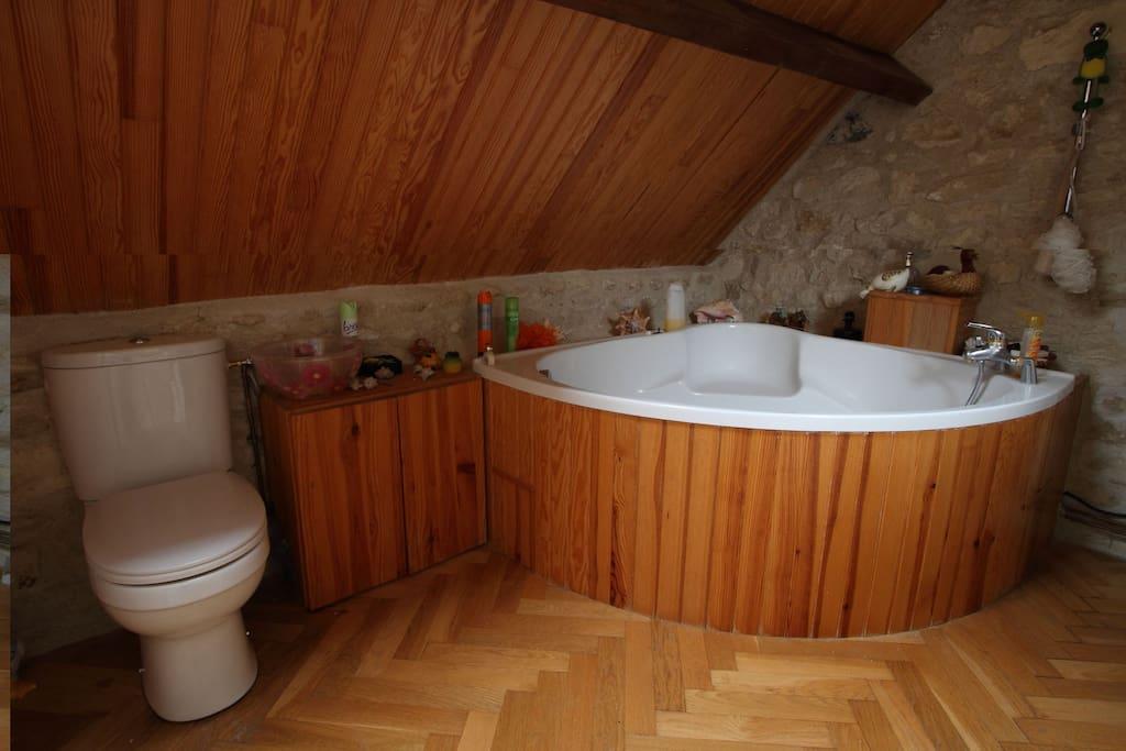 Salle de bain & wc privatif des chambres Africa & Asia
