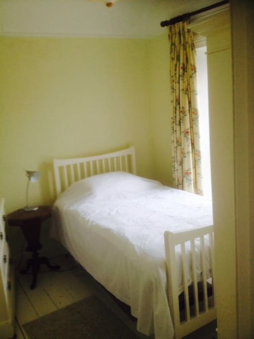a lovely cosy single room overlooking the river Shannon.