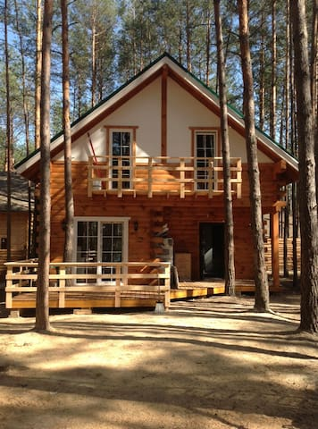 Getaway house in the woods - Kijów - Dom