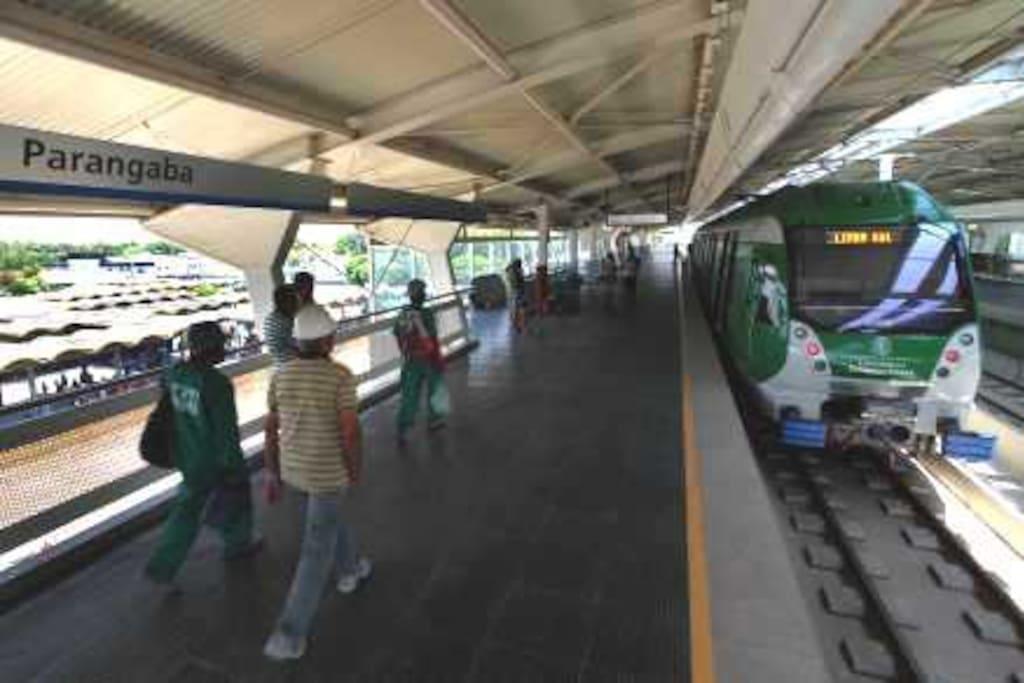 Estação Metro Integrada Terminal Parangaba