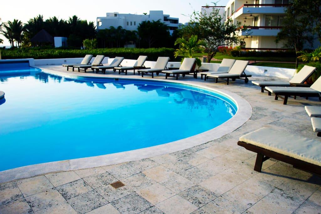 Pool #2.