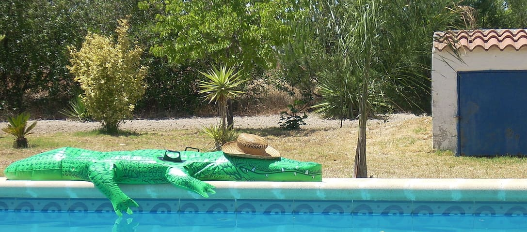 Lovely villa with pool in Spain - Bonares - Huis