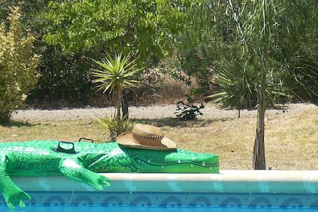 Lovely villa with pool in Spain - Bonares - Rumah