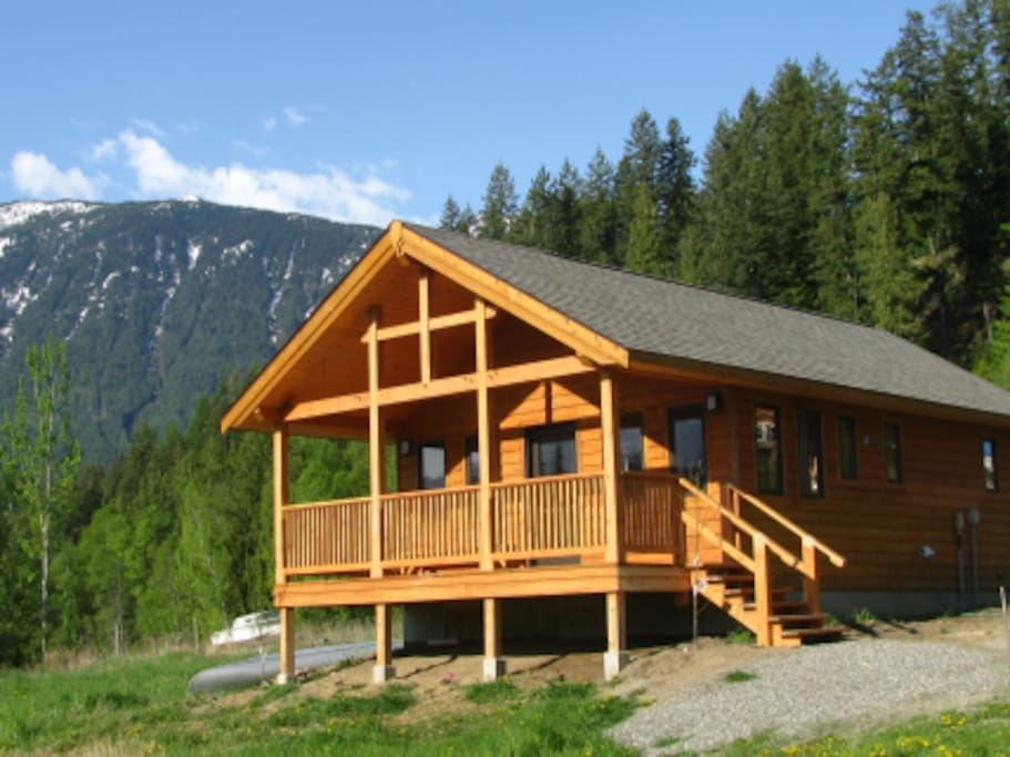 Purcell view holiday home kaslo bc chalet in affitto a for La baita di columbia nj
