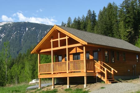 Purcell View Holiday Home, Kaslo BC - Kaslo - Cabana