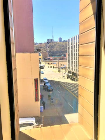 Sunny + City-View | Downtown | Walk Everywhere