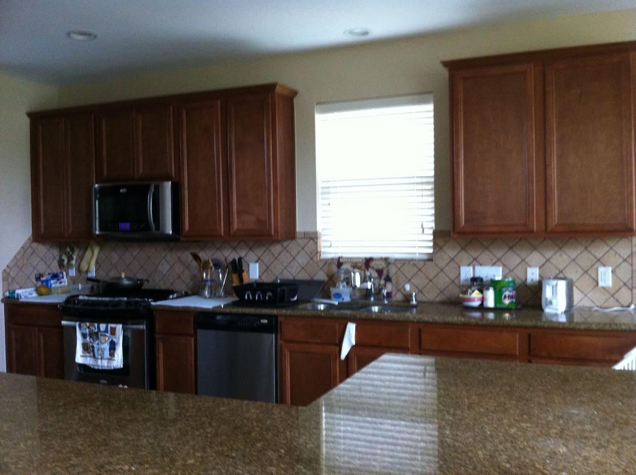 Big kitchen space