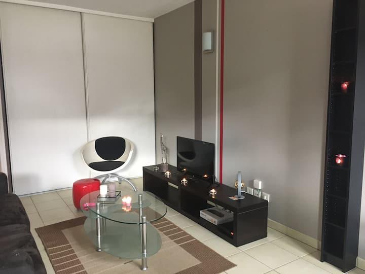 Appartement centre très calme avec garage