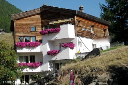 Butterfly: pure nature & clean air - Saas Fee - Wohnung