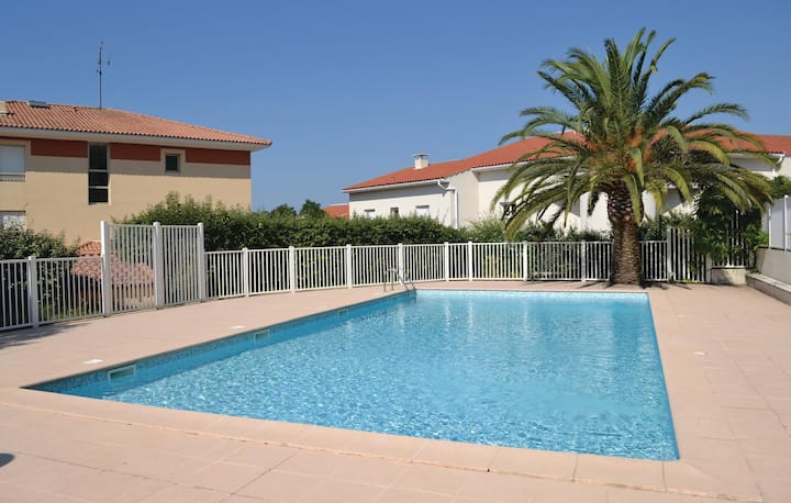 Stunning home in St Raphael with 1 Bedrooms and WiFi