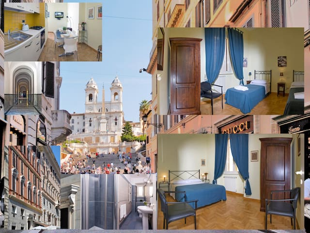 Apartment 2-bedrooms Spanish Steps