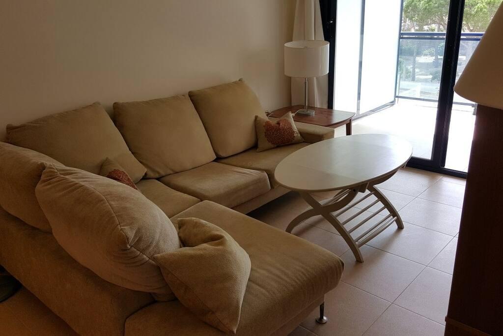Confortable sofá