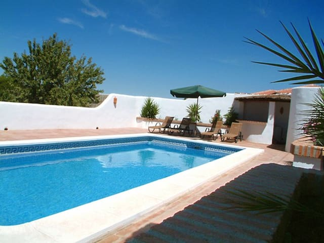 2 bedroom self-catering apartment with pool.