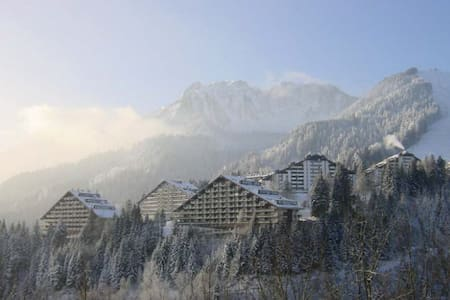 Swiss Alps,Cheap flat, Ski holidays - Vionnaz - Wohnung