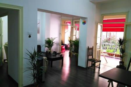 Centre of Chueca's square, big balcony, best views - Madrid - Apartment