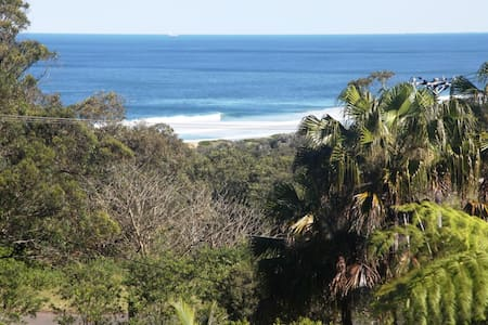 Beach house in rainforest setting - Stanwell Park