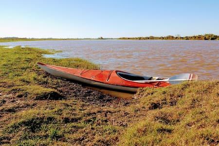 Casa refugio en Coronda a 20mts del Río
