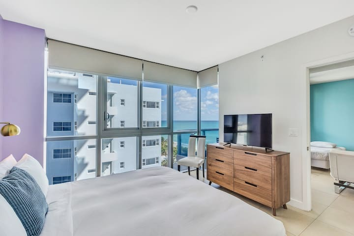 Dharma | Miami Beach | Ocean Views 1BR + PARKING