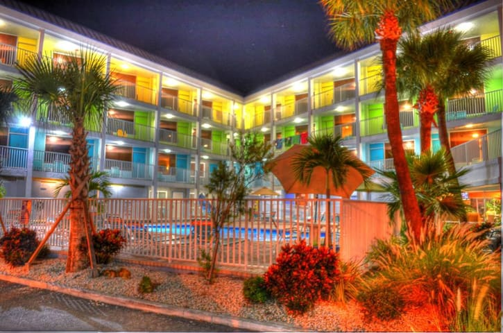 Affordable Efficiency in the Heart of Clearwater Beach #116- Best Rate on the Beach!
