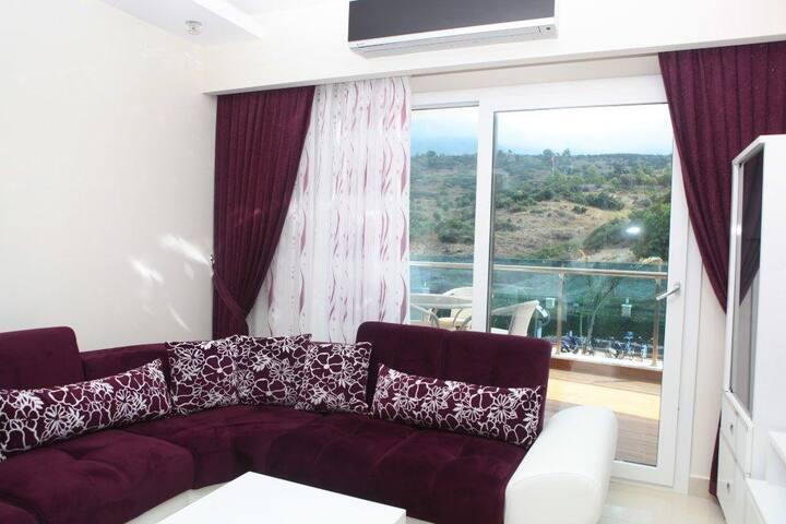 Квартиры в шикарном жилом комплексе - Mahmutlar, Alanya - Apartamento