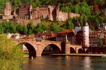 Cosy 4room apt. in fairy-tale city! - Heidelberg - Leilighet
