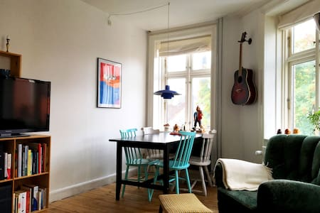 Cozy apartment in Cph V close to Frederiksberg - Apartemen