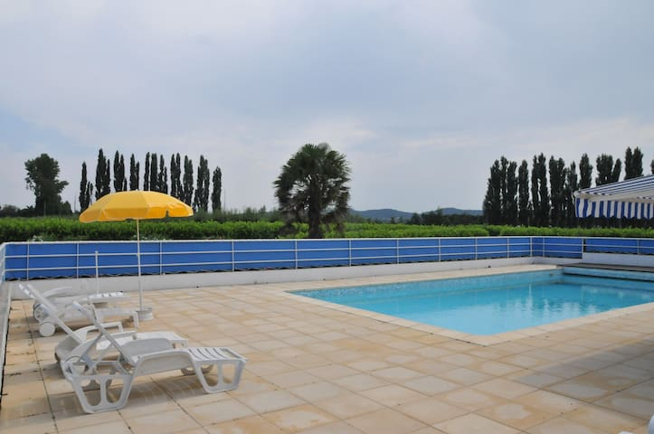 Provencal suite by swimming-pool - Pont-Saint-Esprit - Inap sarapan