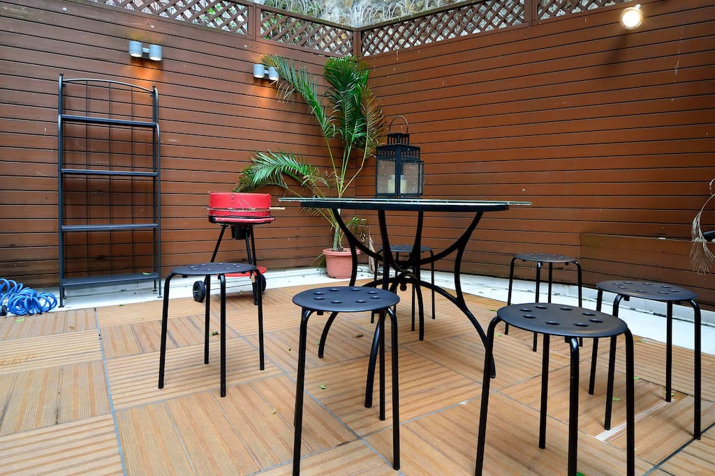 Host barbeques or gatherings in the Terrace.