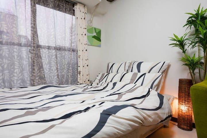 5MIN FROM EBISU/SHIBUYA ! YOUR COZY APART IN TOKYO - Shibuya-ku - Apartemen