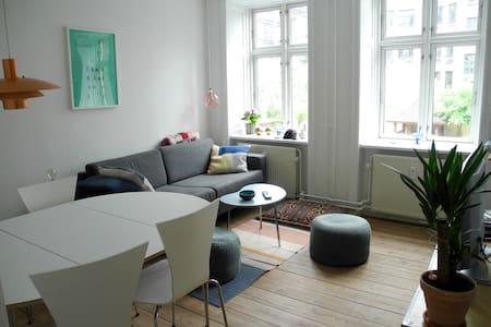 Cozy apartment in the heart of Copenhagen - København - Apartment