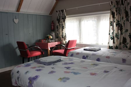 Lovely B&B in beautiful village - Borger - 家庭式旅館