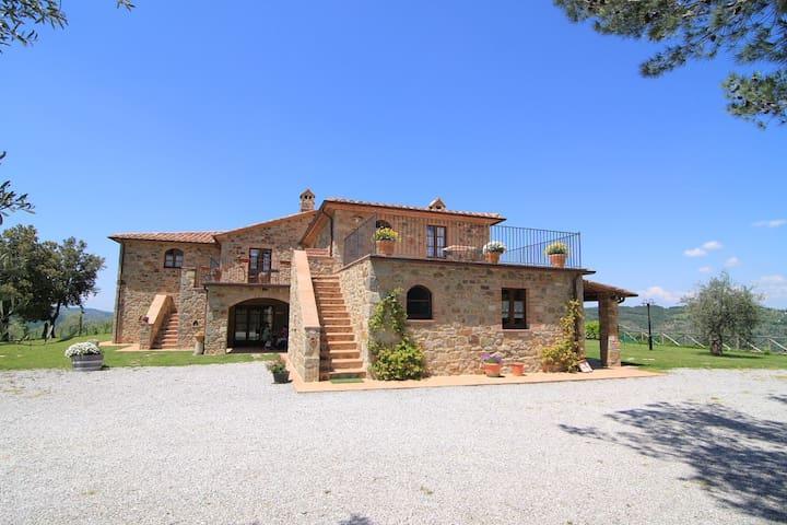 Castagnatello Estate - Ulivo apartment - Seggiano - Daire