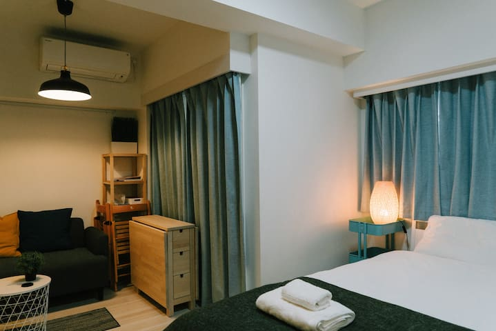 Uhome Minowa Hotel (4mn by train to Ueno)802