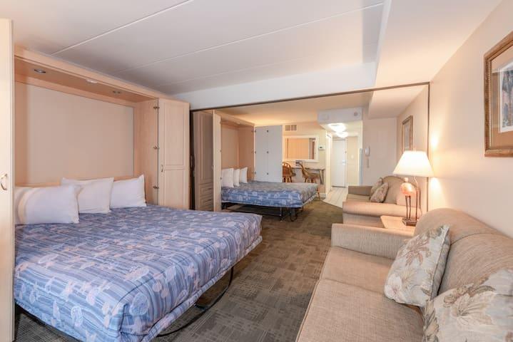 Murphy Beds Include Two Sofas Boardwalk One Resort