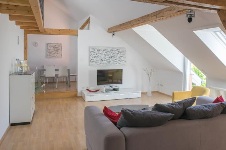 (3 Zimmer) Kormoran, Dachterrasse, zentrale Lage