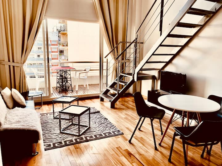 Exclusive Cool 1BR Loft in Palermo with Amenities