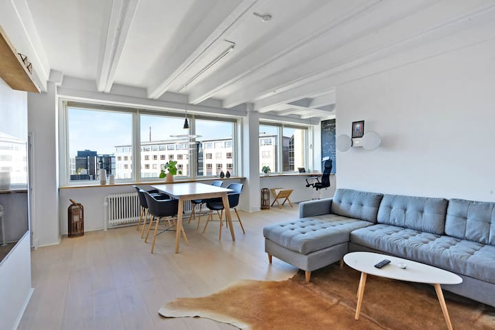 Cozy apartment in central Aalborg!