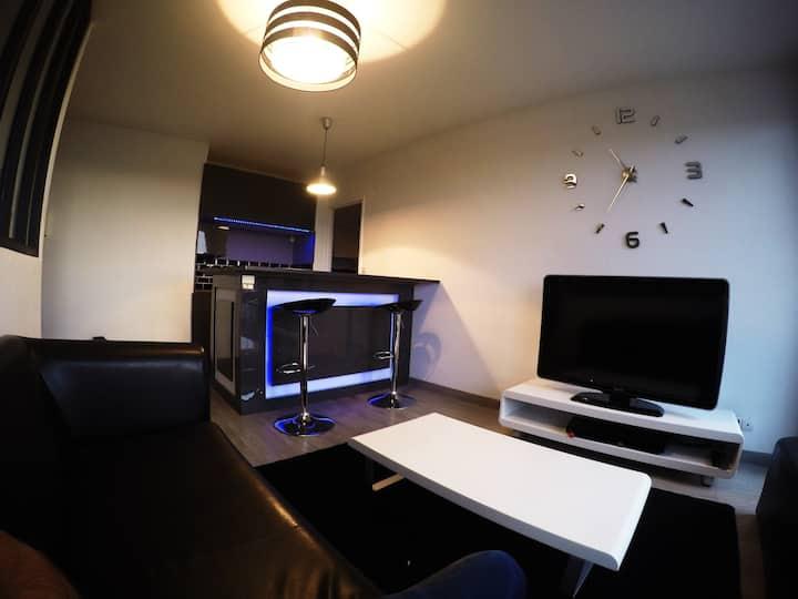 Bel appartement lumineux aux abords de Paris