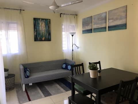 Cómodo apartamento frente al Mar Caribe