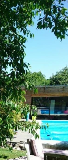 Maison de 150 m2 sur jardin arboré de 1700 m2